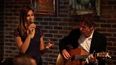 Akoestische live muziek tijdens huwelijksceremonie