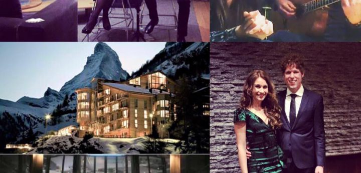 Hotel The Omnia Zermatt live music Lace