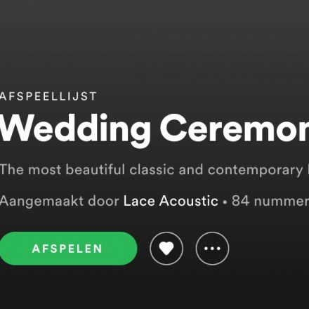 Wedding Ceremony Songs